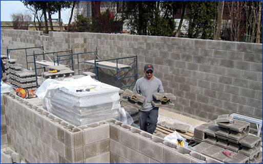 New masonry block systems