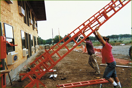 adjustable scaffold