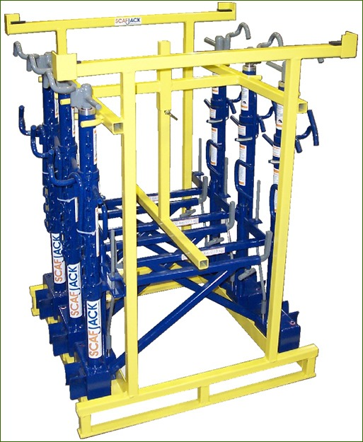 adjustable scaffolding