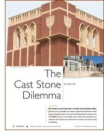 cast stone dilema