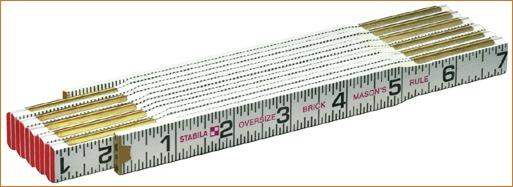 Stabila — Folding Ruler