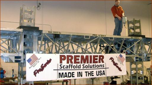 mast climber industry