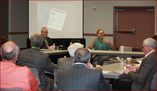 The MCAA Marketing Committee met to update members on VISION 20-20 and other projects.