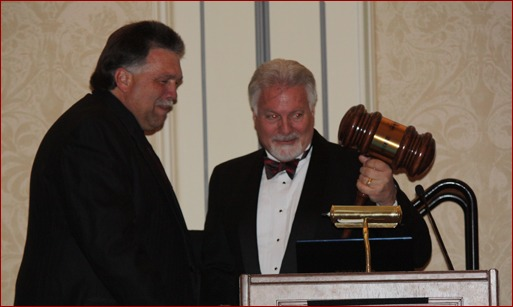 Mackie Bounds was sworn in as the new president of the MCAA by outgoing president, Tom Daniel, during the Closing Banquet.
