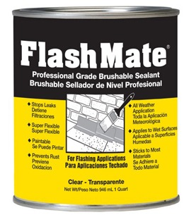 FlashMate Brushable Sealant Quart Can