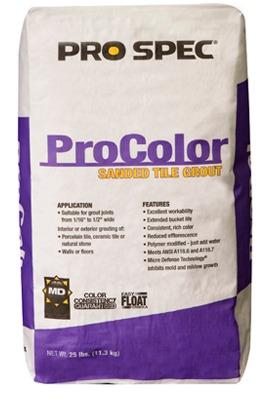 ProColor Tile Grout