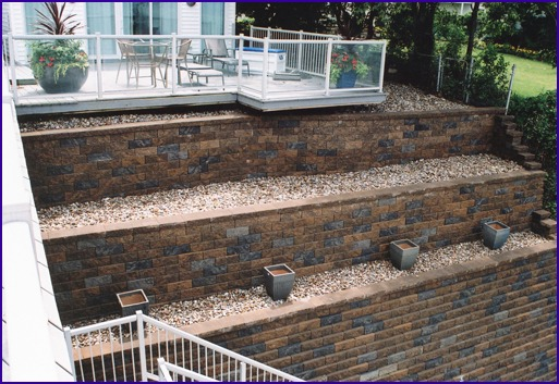 Retaining Wall Ends Erosion
