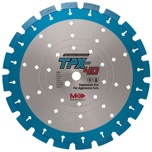 TPX-40 Supreme Grade Wet/Dry Diamond Blade