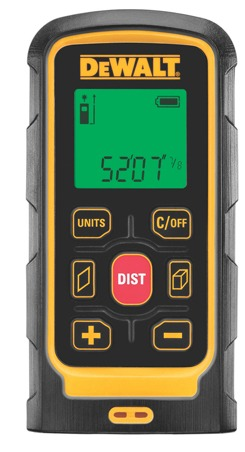 Easy-To-Use Laser Distance Measurer