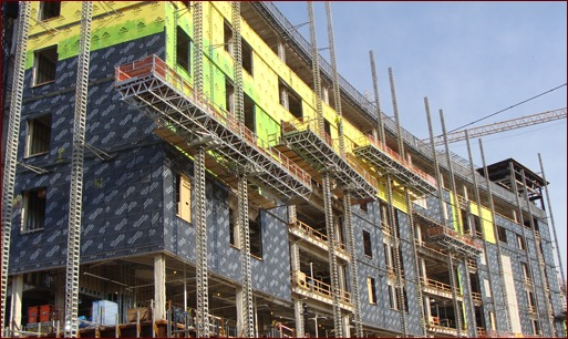 Shown is the Weigand Pepper construction Joint Venture jobsite at Parkview Regional Medical Center in Fort Wayne, Ind.
