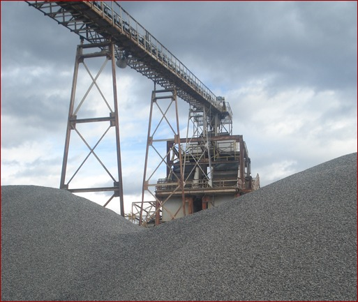 The Lafarge rock quarry in Cumming, Ga., has been in operation since the 1970s and consists of more than 500 acres of land. Five companies are located on the site, which produces more than 3 million tons of aggregate per year.