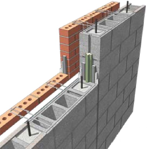 Nonresidential energy code compliance with concrete Insulated block construction