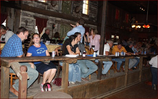 Meeting attendees enjoy a day at Enchanted Springs Ranch.