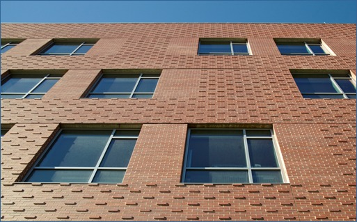 Shown is the Cuisinart Center for Culinary Excellence in Rhode Island, which won a Silver Award in the BIA Brick in Architecture Awards competition. Architect was Tsoi/Kobus & Associates; landscape architect was Stephen Stimson Associates; builder was Agostini Construction Co.; brick manufacturer was Endicott Clay Products; and distributor was Spaulding Brick Co. Photo by Jeffrey Totaro
