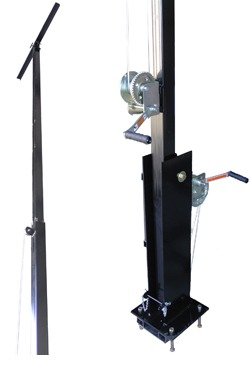 16-Foot Telescoping Light Boom