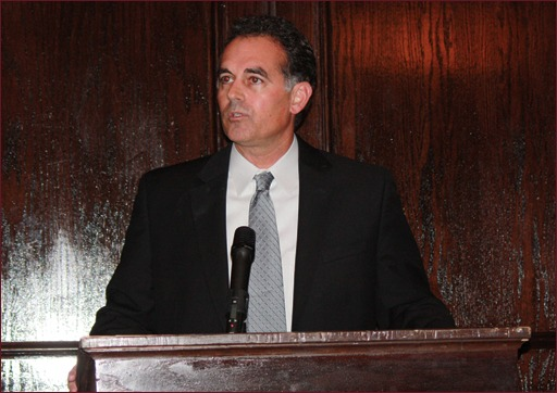 Danny Tarkanian, who is running for the House of Representatives this year for Nevada's 4th congressional district, was the guest speaker at the MAC/PAC event.