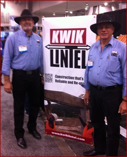 New Australian company Kwik Lintel made a big splash at World of Concrete/World of Masonry.