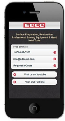 EDCO Mobilized Website