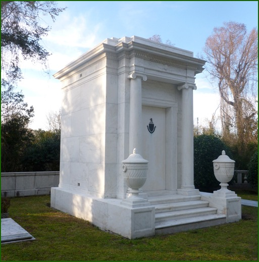 Wilmington's Graham Kenan Mausoleum in Oakdale Cemetery gets a facelift