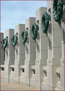World War II Memorial in Washington D.C. Photo © Teresa Azevedo | Dreamstime.com