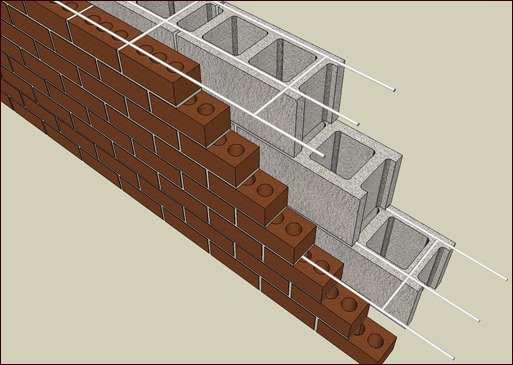 3-wire Ladder Type Joint Reinforcement