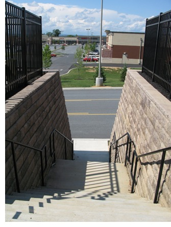 Segmental Retaining Wall Units and Pavers Create Usable Space