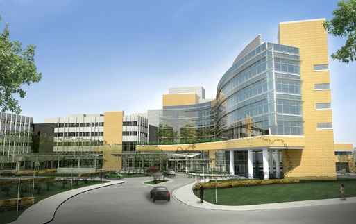 Shown is the Gundersen Lutheran Health System campus. Image courtesy of Ellerbe (AEComm)