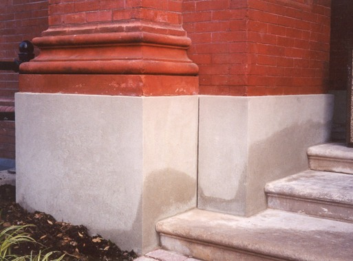 Patching: Extending the life of masonry
