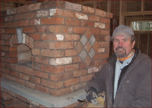 Stephen Bushway, President of the Masonry Heater Association of North America