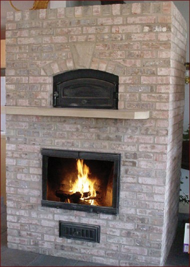 Contraflow masonry heater by Gene Padgitt