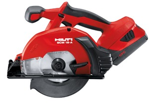 SCM 18-A Cordless Metal Cutting Circular Saw