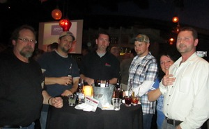 Attendees having a blast at the MCAA South of 40 fundraiser event, held at El Segundo Sol in Las Vegas.