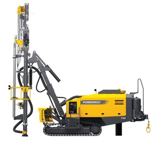 PowerROC T35 E Surface Drill Rig