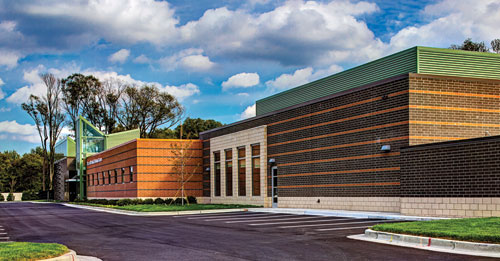 The Role of CalStar Bricks in a Michigan Campus Project