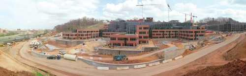 Manganaro Midatlantic provides water-tight exterior for new headquarters building.