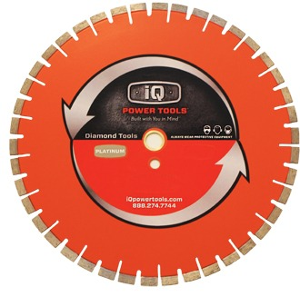 Ultimate Orange Silent Paver Blade