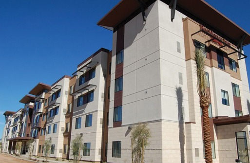 Laticrete Masonry Veneer Installation System MVIS,Residence Inn Marriott Gilbert AZ