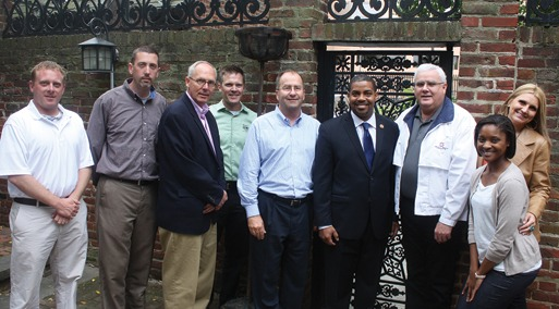 Brian Foster, Paul Oldham, Paul Odom, Joe Buechel, Mike Sutter, Rep. Steven Horsford (D-NV), John Smith Jr., Jennifer Morrell, Imani Brodie.