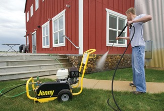 Belt-Drive Cold Pressure Washers