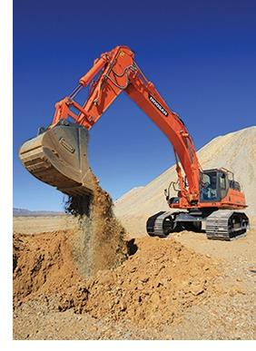 DX490LC and DX530 Excavators