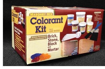 Masonry Coloring Kit