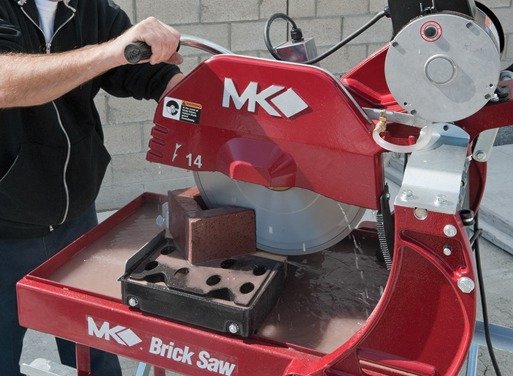 MK-2000 Wet/Dry Brick & Block Electric Saws