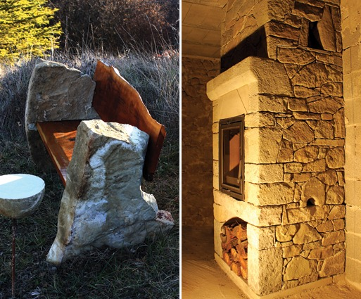 Natural Stone  Accessorizing with Stone