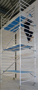 SafeTower Mobile Scaffold for All Heights
