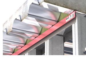 Firestop Steel Angle for Deep Leg Track