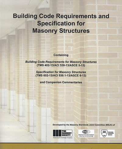 2013 Changes in The Masonry Code