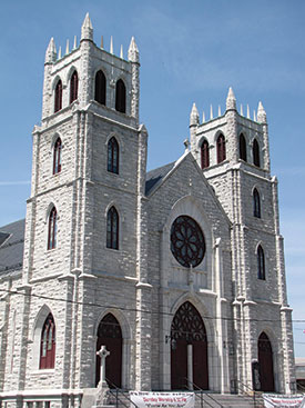 Anchoring System to Be Used for Structural Stabilization of Historic Church