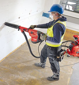 Minimizing Dust On The Job Masonry Magazine