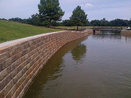 Pavestone Keeps Texas Community Out of Dangerous Waters