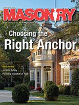 Masonry Magazine September 2016